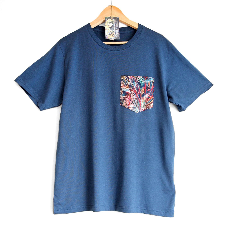 Colour Blast In The Pocket 100 Organic Cotton T Shirt
