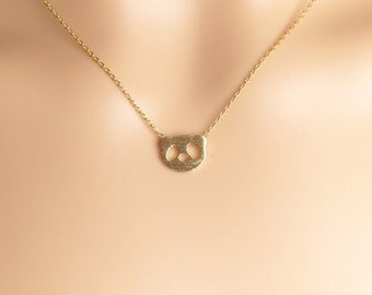 Panda Necklace,Panda face Necklace,kids Necklace,Gift idea,Christmas present, Holiday gift,choker