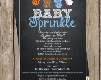 Baby Sprinkle/Shower Invitation Design - DIGITAL FILES