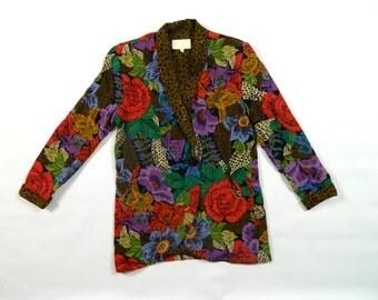 Vintage Cache Floral Blazer...