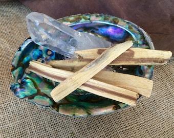 Palo Santo - Palo Santo Sticks - Palo Santo Smudge Kit - Cleansing Incense