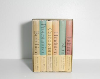 1960s Great Religions of Modern Man Book Set