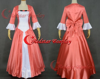 Beauty and the Beast Dress Princess Belle Cosplay Costume