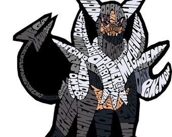 Mega Houndoom Magnet