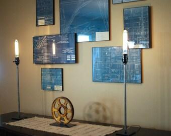 Candlestick Lamp   Industrial lighting   Urban Decor