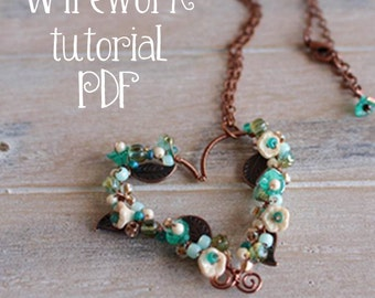 Enduring Love Wirework Pendant Tutorial PDF