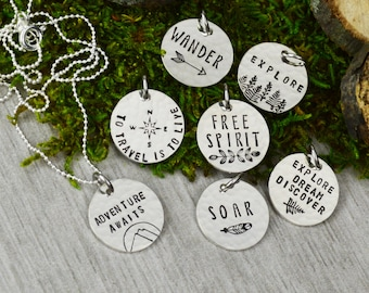 Choose Your Charm Travel Necklace