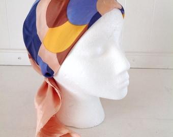 Mid Century Scarf|Vintage Pink Scarf|Mid Century Fashion Accessories|Pink Neck Scarf|Vintage Simone Scarf|Vintage Pink Head Scarf