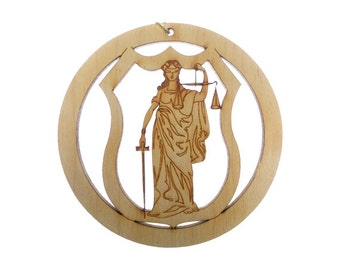 Lawyer/Judge Ornament - Lawyer Ornaments - Lawyer Gifts - Lawyer Gift - Lawyer Ornament - Judge Ornament - Judge Gift - Personalized Free