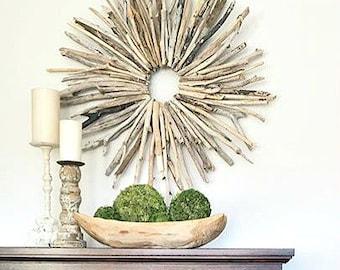 Driftwood Wall Art driftwood decor | etsy