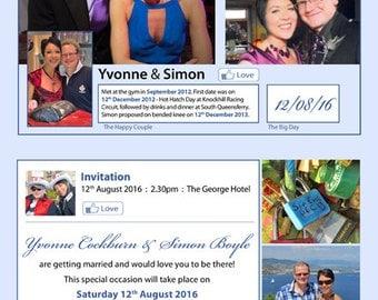 Timeline Invitation
