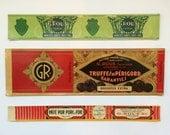 Vintage French Food Labels