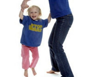 STOP WARS organic cotton t-shirt, child, short sleeve