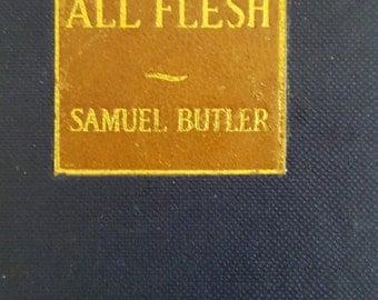 Antique 1916 copy of Samuel Butler's The Way of All Flesh, E.P. Dutton & Co