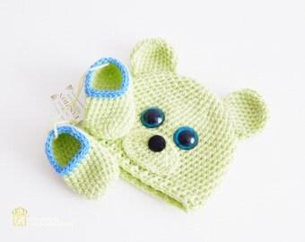 Newborn boy outfit.Baby crochet set. Newborn Baby Boy. Baby clothing. Baby boy shoes set. Newborn baby set
