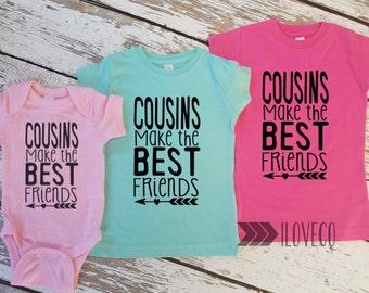 COUSINS Make the best friends / Big Cousin Little Cousin Outfit