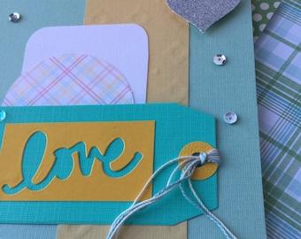 Hand made Love card