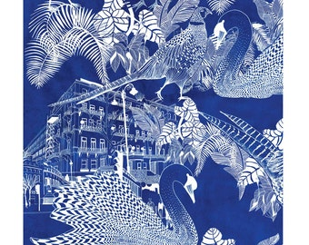 South Kensington A3 Print