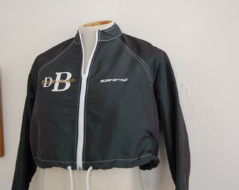 Vintage 1980's 90's Daytona Beach Surf Crop Jacket