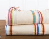 St. Tropez Turkish Towel, Cotton Fouta Towel, Bath Towel, Beach Towel, Peshtemal, Turkish Towel