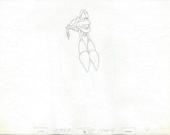 THE LITTLE MERMAID original Sebastian production drawing
