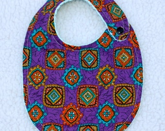 multi-color BABY BIB