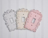 Light Switch Cover/Shabby Chic Light Switch Cover/Nursery Decor/Decorative Cover/Wall Decor/SSLID0108/Farmhouse/Bedroom/Bathroom/