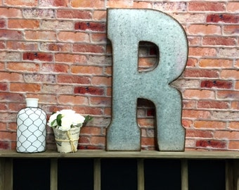 Large Metal Letters For Wall large wall letters | etsy