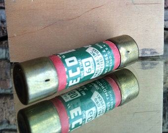 "Industrial Steampunk ""ECO"" 60 amp Fuse - Made in Chicago"