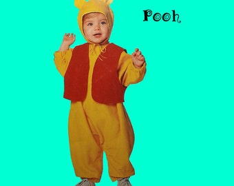Winnie the Pooh Costume Size1/2 to 4