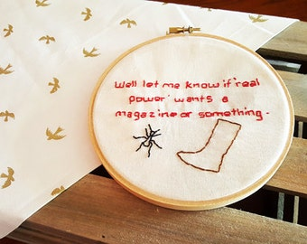 Marvel Embroidery: Ant, Boot