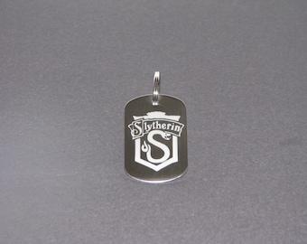 Harry potter Slytherin keychain