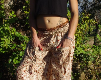 Pants Aladdin Pants Buggy Trousers Harem Pants Hippie Trousers Fairy Faerie Trousers Elven Clothing yoga Pants Meditation Pants Boho Pants