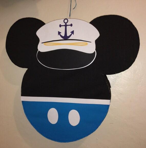 Disney Mickey Mouse Inspired Nautical Nail Art - YouTube