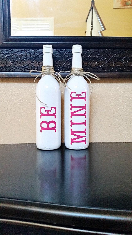 Valentine 39 s day decor valentine 39 s day wine bottle for Decor 750ml