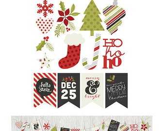SALE! DIY Christmas Bunting Banner from Simple Stories