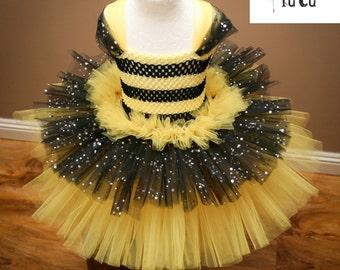 Bumble Bee Inspired Tutu dress