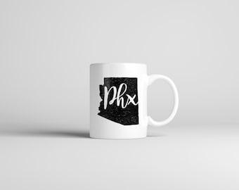 Phoenix Mug // Arizona // Hometown Mug // Double-Sided