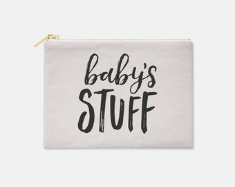 Baby's Stuff Bag // Expecting Mom // New Mom // Baby Shower Gift // Mommy and Me // Mom Gift // Baby Bag // Travel Bag // The Busy Bee