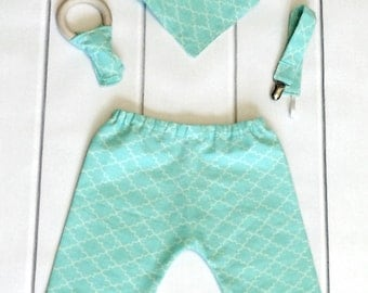 Chic Baby Clothes - Modern Baby Clothes - Cool Baby Clothes - Baby Pants Set - Boutique Baby Clothes - Hip Baby Clothes - Baby Shower Gift