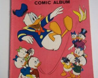 Gold Key Comics Walt Disney's Donald Duck Comic Album #96 August 1964 Vintage Comic Book FN