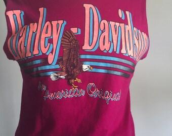 1980s Harley Davidson biker T-Shirt