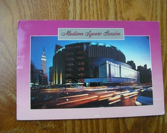 Madison Sq Garden Etsy