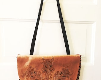 Mountain Floral Shoulder Bag