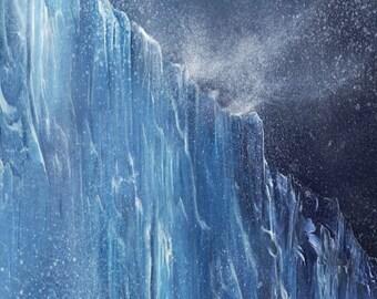 Ice Wall Photography Backdrop (FD5116)