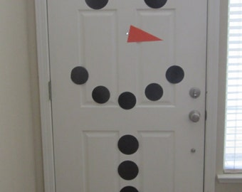 Snowman Door Decoration, Holiday decoration