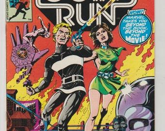 Logan's Run; Vol 1, 6, Bronze Age Comic Book. VF+. June 1977. Marvel Comics
