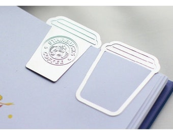 Starbucks Metal Paper Clip Book Mark