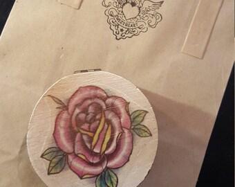 small custom tattoo art box