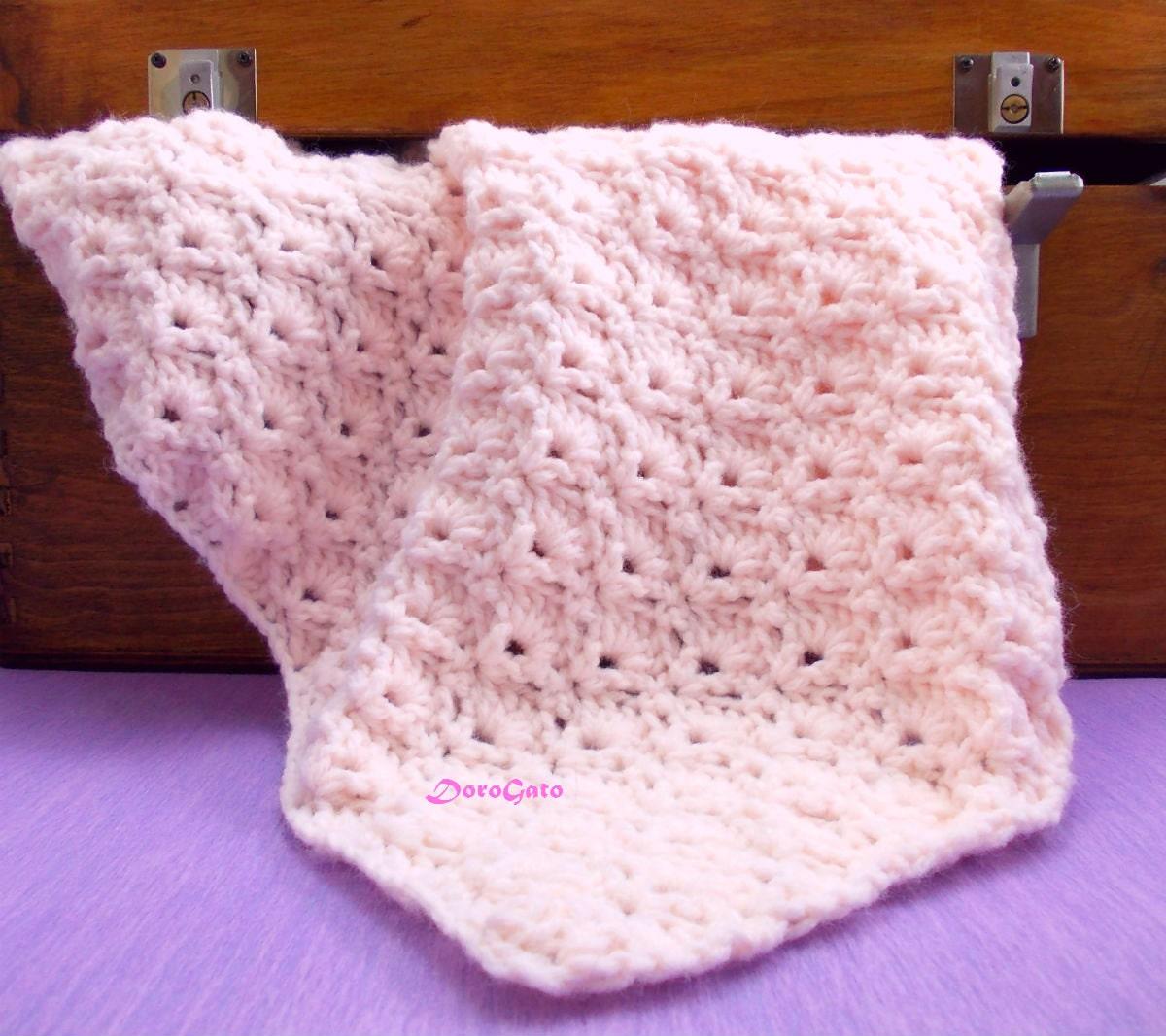 Tutorial crochet blanket pattern Baby Blanket pattern